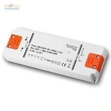 LED Slim-Transformator 24V DC, 0-50W, IP20, Trafo für LEDs, EVG, Treiber, Driver