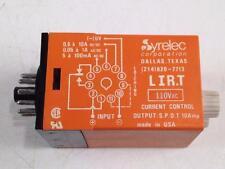 Syrelec Crouzet LIR.T Current Control Relay 110V 10A LIRT Hysteresis Threshold