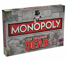 OFFICIAL THE WALKING DEAD MONOPOLY TRADING TRADITIONAL BOARD GAME