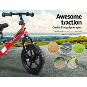 """Rigo Kids Balance Bike Ride On Toys Push Bicycle Wheels Toddler Baby 12"""" Bikes R"""