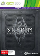 Skyrim - The Elder Scrolls V Legendary Edition Xbox 360 Xbox360 - ONLY ONE LEFT!