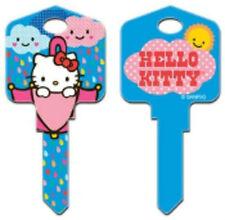 "HELLO KITTY "" RAIN OR SHINE "" House Key Blank Kw1 Kwikset SANRIO"