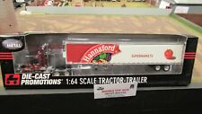DCP #32214 HANNAFORD FOODS SUPERMARKETS SEMI CAB TRUCK & REEFER TRAILER 1:64/ FC
