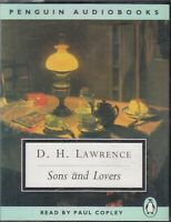 Sons and Lovers D. H. Lawrence 4 Cassette Audio Book Paul Copley FASTPOST