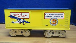 McCoy Standard Ga Spirit of St. Louis 1981 TCA Boxcar Ozark Division 593037