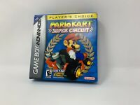 Mario Kart Super Circuit Nintendo Gameboy Advance GBA Complete - Players Choice