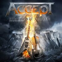 Accept Symphonic Terror Live At Wacken Edizione Limitata Blu-Ray + 2-CD Nuovo