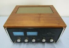 VINTAGE 1970'S MCINTOSH MC2105 SOLID STATE POWER AMPLIFIER AMP + SOLID WOOD CASE