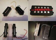 1 PICKUP MAGNETE ELECTRIC BASS BRIDGE or NECK 4/5/6 STRINGS musicman fender ecc
