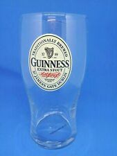 More details for rare guinness irish extra stout pub beer home man cave collector pint glass gift