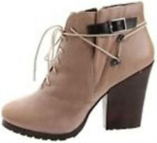 New Women's Bacio 61 Pesanti Cement Leather boots  size 7  (MSR 160)