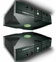 $1 BLOW OUT BUYER PICKS PART(S) Original (OEM) Xbox Black Console shell X-box