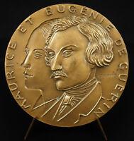 Medal Maurice and Eugenie Guerin le Centaur Tarne Poet Poetry Medal