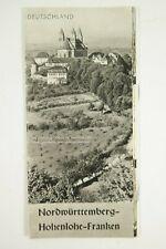 Nord Württenberg , Hohenlohe Franken Burgenland - Reiseführer / B2