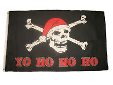 3x5 Jolly Roger Pirate Yo Ho Ho Ho Premium Quality Flag 3'x5' house banner