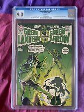 Green Lantern 76 CGC 9.0 White Denny O'Neil Neal Adams w Green Arrow