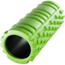 Rullo Massaggio Yoga Pilates Foam Roller Schiuma Massaggiante Muscoli Verde