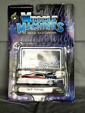 MUSCLE MACHINES 1967 CHEVROLET NOVA STARS & STRIPES BLOWER MOTOR 1/64 02-76 RARE