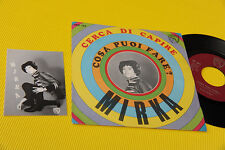 "MIRKA 7"" CERCA DI CAPIRE ORIG ITALY BEAT '60 NM !! CON CARTOLINA ! TOP COLLECTOR"