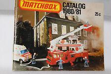 Matchbox Superfast Toys, 1980/81 Collectors Catalog, Original