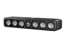 Polk Audio Signature Series S35 Slim Center Speaker (Black Walnut, Single)