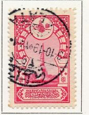 Turkey 1917-18 Early Issue Fine Used 10p. 066778