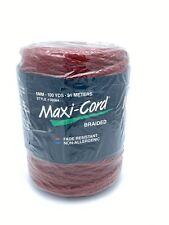 Macrame Maxi Cord Cinnamon 6mm Braided 100 Yards Of Polypropylene