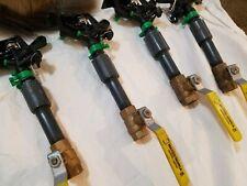 """8 Sprinkler Heads With pvc Fittings And Matco-norca 1/2"""" Ball Shut Off Valves"""