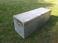 Western Electric Nickel-Plated Telephone wooden shipping crate rare to find