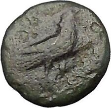 Kyme in Aeolis 350BC EAGLE & VASE on Authentic Ancient Greek Coin i49591
