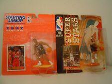 2 Allen Iverson Action Figures Kenner Starting Lineup Mattel Nba Super Stars