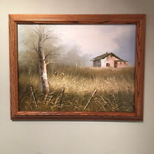 Everett Woodson Original Framed Signed Listed Artist Price Amazing Use of Light