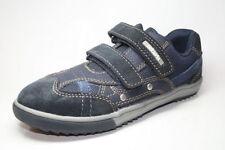 Chaussures bleues en cuir pour fille de 2 à 16 ans, pointure 28