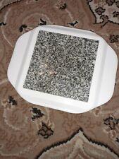 Microwavable Hot Plate. Keep it Warm Thermal Granite Plate Warmer