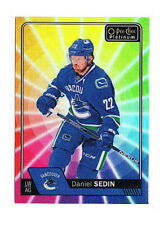 Daniel Sedin 2016-17 O-Pee-Chee Platinum, Rainbow Color Wheel !!