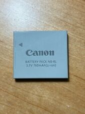 Canon NB-4L Li-Ion Battery, Fits many models, Open box/Hardly used Save $$