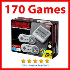 Genuine Super Nintendo SNES classic mini Console With 170 games - Preowned