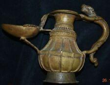 SALE!! NEPAL/TIBET SHAMAN BRONZE PITCHER 6in PROV