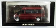 Minichamps 1:43 :  FORD TRANSIT Base Van Medium Roof 1 of 1,111pcs (Salsa Red)