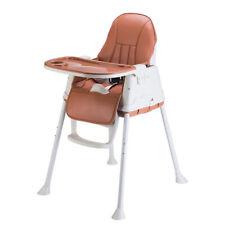 Chaise haute de bébé pour Enfants Réglable Tablette Siège Pliable 3 couleur FR