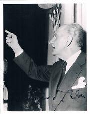 "Greece PM Georgios Papandreou 1888-1968 genuine autograph signed 5""x7"" photo"