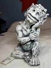 Gargoyle Statue Gecko Lizard home office Medieval Halloween Dragon Church Gothic