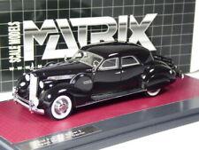 (KI-08-20) Matrix Packard Super 8 Sport Sedan 1940 schwarz in 1:43 in OVP