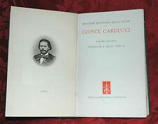 Ente Naz.Opere Carducci - Juvenilia e Levia Gravia 1935 Ed. di Lusso Copia n. 68