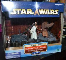 Star Wars A New Hope Death Star Trash Compactor 2/2 Leia & Chewbacca New Sealed