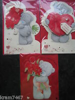 Me to You Tatty Teddy Husband, One I Love & Fiance Valentines day Cards Embossed