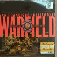 Grateful Dead Warfield SF CA 2LP Vinyl RSD 2019 NEW SEALED Live 180g OOP Ltd