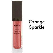 Nyx Diamond Sparkle Lucidalabbra Donna - 5 ML NUOVO COLORE: Arancione Sparkle
