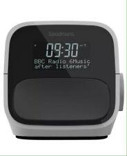 Goodmans RDS DAB+ FM radio digital Clock dual alarm and 2 x USB charge ports