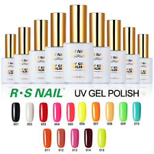 R.S Pick Any 10 Colors Soak Off Gel Nail Polish UV LED 15ml 308 Colors Available